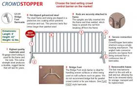 Pedestrian Barricade Temporary Fencing Barrier Galvanized Steel Welded Wire Fence