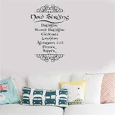 com vinyl decal quote art wall sticker mirror decal the