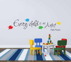 Get Wall Stickers For Your Juniour Picasso Artist Ey Decal
