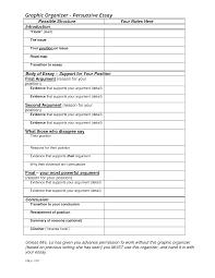 graphic organizers college essay