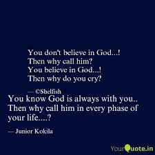 you know god is always wi quotes writings by yashi awasthi