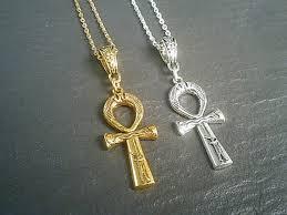 egyptian ankh cross pendant necklace