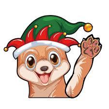 Megawheels Rear Wiper Decal Sticker Windshield Wiper Decal Tags Christmas Rear Wiper Stickers Dog Waving Walmart Com Walmart Com