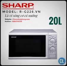 Lò vi sóng có nướng Sharp R-G226VN-S - Điện Máy Đăng Khoa Hải ...