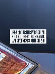Carole Baskin Car Decal Tiger King Car Decal Funny Car Etsy