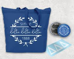 tridelta since 1888 gift set uptown greek