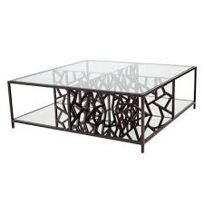 ed ice coffee table color leaded