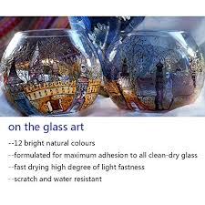 vvlife stain glass paint permanent