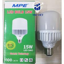 Cao cấp ] Đèn led bulb 15W MPE giảm chỉ còn 80,000 đ
