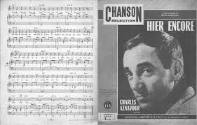 Hier encore (Charles Aznavour) - The Strombolis