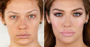 how to apply makeup to look young