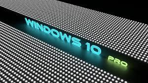 تحميل خلفيات ويندوز 10 برو 4k شعار النيون عريضة 3840x2160