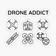Drone Stickers Redbubble