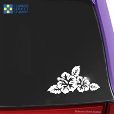 Hibiscus Flowers Decal Seward Street Studios