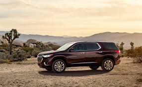 chevrolet introduces the 2018 traverse