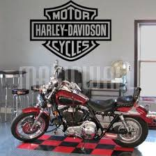 Harley Davidson Logo Wall Decals Stickers Harley Davidson Decor Logo Wall Harley Davidson
