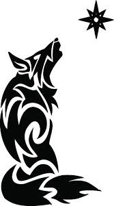 New Tribal Wolf Tan1 233 Decal Vinyl Graphic Trailer Car Suv Star Rv Vehicle Ebay Tribal Wolf Coyote Tattoo Free Spirit Tattoo