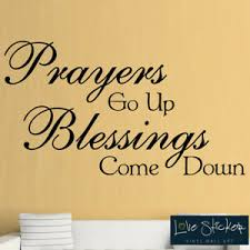 Prayers Blessings God Bible Love Quote Wall Art Stickers Decals Vinyl Home Room Ebay