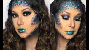 mermaid with glitter scales tutorial