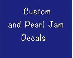 Pearl Jam Decal Etsy