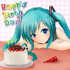 Happy Birthday Invitacion Cumpleanos Nino Vocaloid Cumpleanos