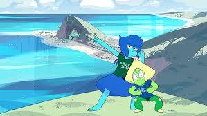 steven universe lapis lazuli peridot
