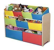 Delta Children Multi Color Deluxe Toy Organizer With Storage Bins For Sale Online Ebay