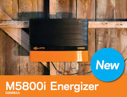 Gallagher Fence Energizer M5800i 58 Joule Electric Fence Charger Gallagher Fence Electric Fencing Grazing Supplies Livestock Scales Pasture Management Solutions