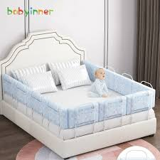 Big Sale 0ffb46 Babyinner 60 50cm Baby Bed Bumper Anti Collision Bed Crib Rails Adjustable Height Newborn Bed Fence Safety Bed Accessories Cicig Co