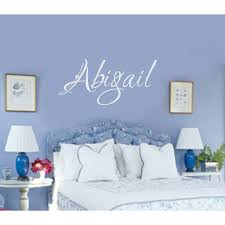 Personalized Name Wall Decal Wayfair