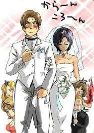 Leon Kennedy, Ada Wong Wedding | Resident evil leon, Resident evil game,  Resident evil 5