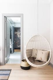 Black Walnut Project Kate Marker Interiors In 2020 Hanging Chair Living Room Swing Chair For Bedroom Swing Chair Bedroom