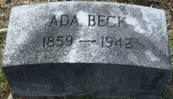 Ada Beck (1859-1942) - Find A Grave Memorial