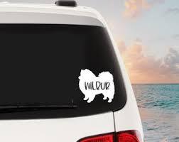 Samoyed Decal Etsy