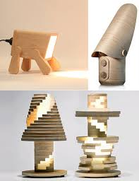 creative and cool wooden lamp designs
