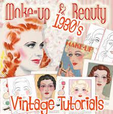 1930s makeup tutorial books vine
