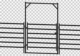 Hereford Cattle Fence Gate Room Little Buster Toys Png Clipart Angle Black And White Cattle Fence