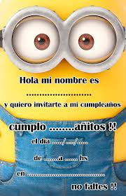 Kit Imprimible Candy Bar Minions Ojitos Para Cumpleanos Candy