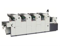 four 4 colour offset printing machine