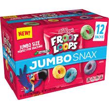 kellogg s froot loops jumbo snax