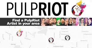 pulp riot hair artist locator map