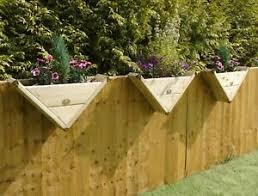 90 Triangle Over The Fence Panel Hook Reverse Decking Planter Window Basket Ebay