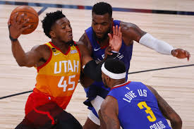 Recap: Denver Nuggets bring the fight, but Donovan Mitchell and Utah Jazz  get last laugh again - Denver Stiffs