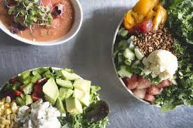 healthy food options at sweetgreen
