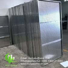Aluminum Perforated Sheet For Facade Privacy Screen Fence With 2mm Thickness Metal Perforation Screen