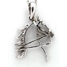 equestrian jewelry sterling silver and