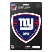 New York Giants Crest Logo Shield Decal
