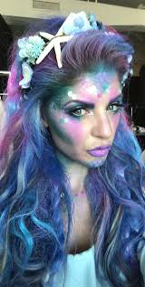 mermaid hair and makeup ideas