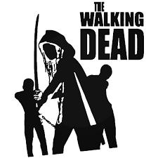 The Walking Dead Michonne Decal Sticker