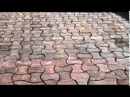 recycle waste plastic into paving tiles